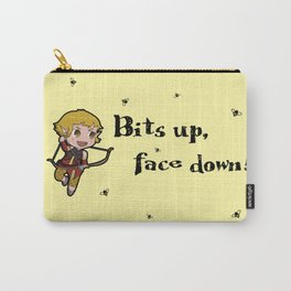 Bits up, face down! Sera Carry-All Pouch