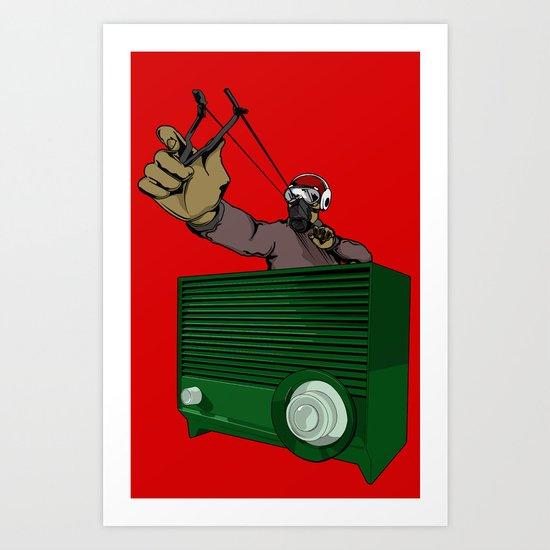 SlingShotta Art Print