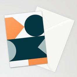 Mid Century Modern Geometric 21 Stationery Cards