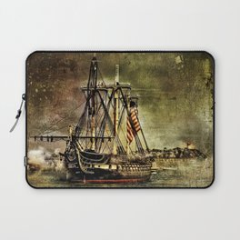 Tall ship USS Constitution Laptop Sleeve
