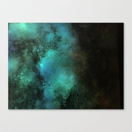 Painting Under UV Spectrum, Unique Blend Of Colors, Original Contemporary Artwork, Copper Canvas Print