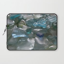 Ocean Hue Sea Glass Assortment Laptop Sleeve