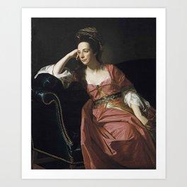 John Singleton Copley, 1738-1815 Mrs. Thomas Gage, 1771 Art Print