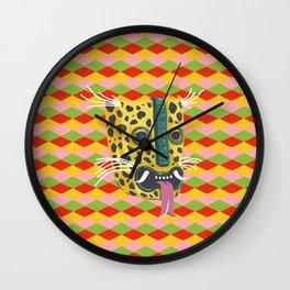 Mexican Leopard Wall Clock