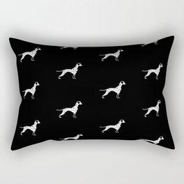 DALMATIANS ((black)) Rectangular Pillow