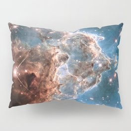 Monkey Head Nebula Pillow Sham