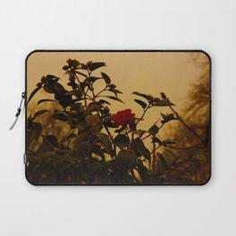 Winter rose Laptop Sleeve