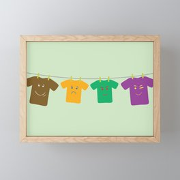 Hanging Tee Family Framed Mini Art Print
