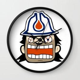 Edmonton Rabid Team Logo Wall Clock