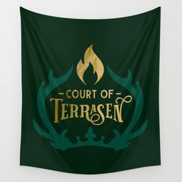 Court of Terrasen Book Quote Wall Tapestry