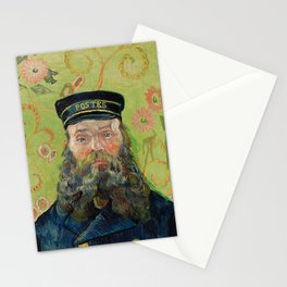 The Postman by Vincent van Gogh Stationery Cards