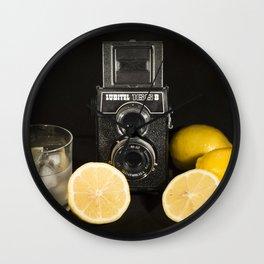 Lubitel Lemons Wall Clock
