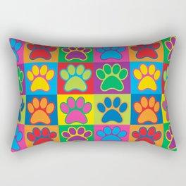 Pop Art Paws Rectangular Pillow