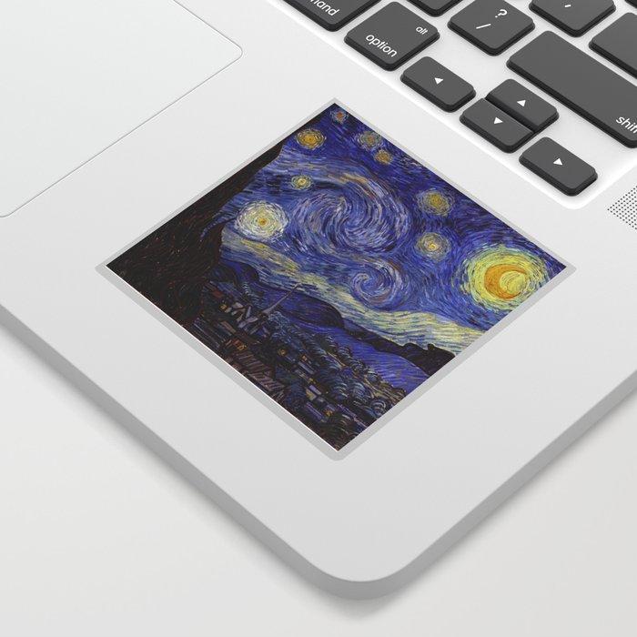 Vincent Van Gogh Starry Night Sticker