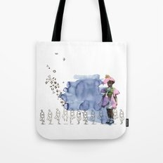 to grow up Tote Bag