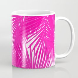 Palms Fuchsia Coffee Mug