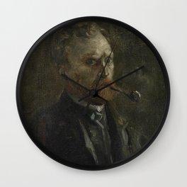 Selfportrait Wall Clock