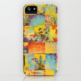 COLORFUL INDECISION 2 - Vibrant Wow Beautiful Abstract Acrylic Painting Collection Nature Rainbow iPhone Case