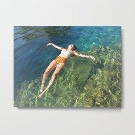 Swimmin' Hole Metal Print