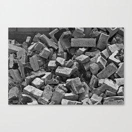 Rubble Canvas Print