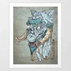 Taun  Taun Zombie Art Print