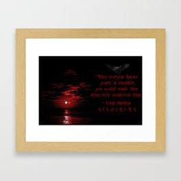 Every Monsterous Thing Framed Art Print