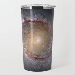Intermediate Spiral Galaxy NGC 1566 Travel Mug