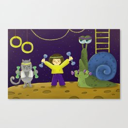 Sports Day Canvas Print