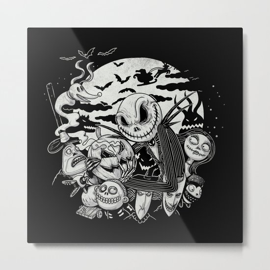 Filling Your Dreams to the Brim with Fright Metal Print