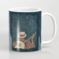 banjo Mugs featuring Banjo by Aquamarine Studio