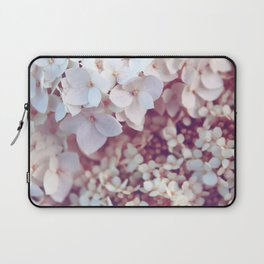 Pink and White Flowers (Color) Laptop Sleeve