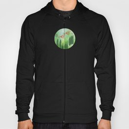 Birds and Leaves Hoody