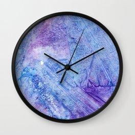 Abstract Cool Analogous Wall Clock