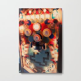 Pinball Machine Metal Print