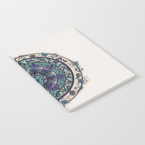 Morning Mist Mandala Notebook