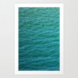 Textura: Lake Michigan Waters Art Print