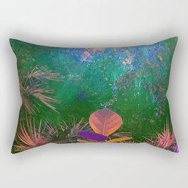 Sunlight in the Enchanted Forest Rectangular Pillow