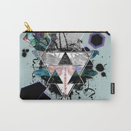 Modern Geometric Dragonfly v2 Carry-All Pouch