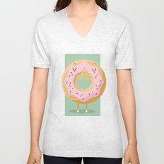 Donut Unisex V-Neck