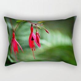 Pink Petals Rectangular Pillow