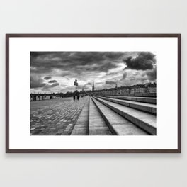 Urban stairs. Framed Art Print