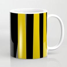 yellow gray and black Mug