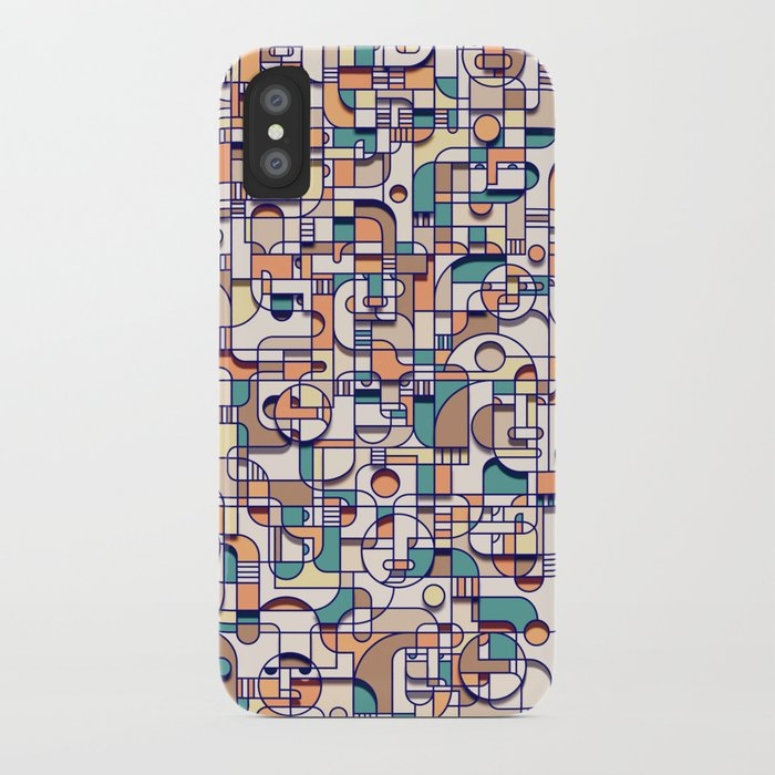 HUMAN BEINGS iPhone Case