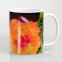 hibiscus Mugs featuring Hibiscus by Iris V.