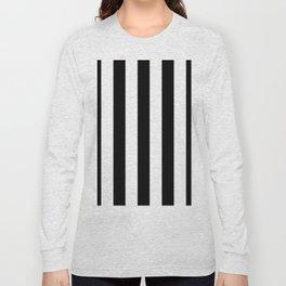 Stripes Black And White Long Sleeve T-shirt