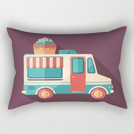 Ice Cream Van Rectangular Pillow
