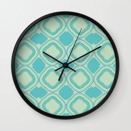 Mirror Pattern Wall Clock