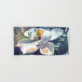 Magnolia Blossom and Bee Hand & Bath Towel