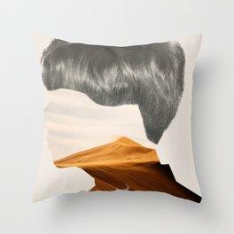 Deserted Mind  Throw Pillow