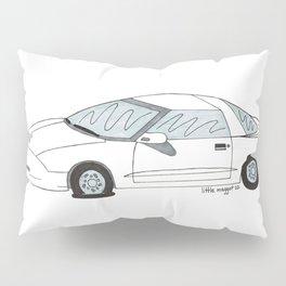 Flat Tire Firebird Pillow Sham